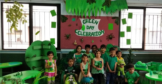Green Day Celebration-PrePrimary
