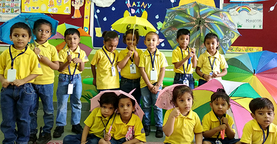Rainy Day Celebration-PrePrimary