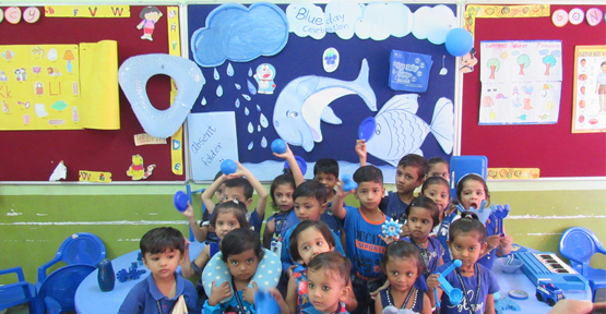 PrePrimary-Blue Day Celebration